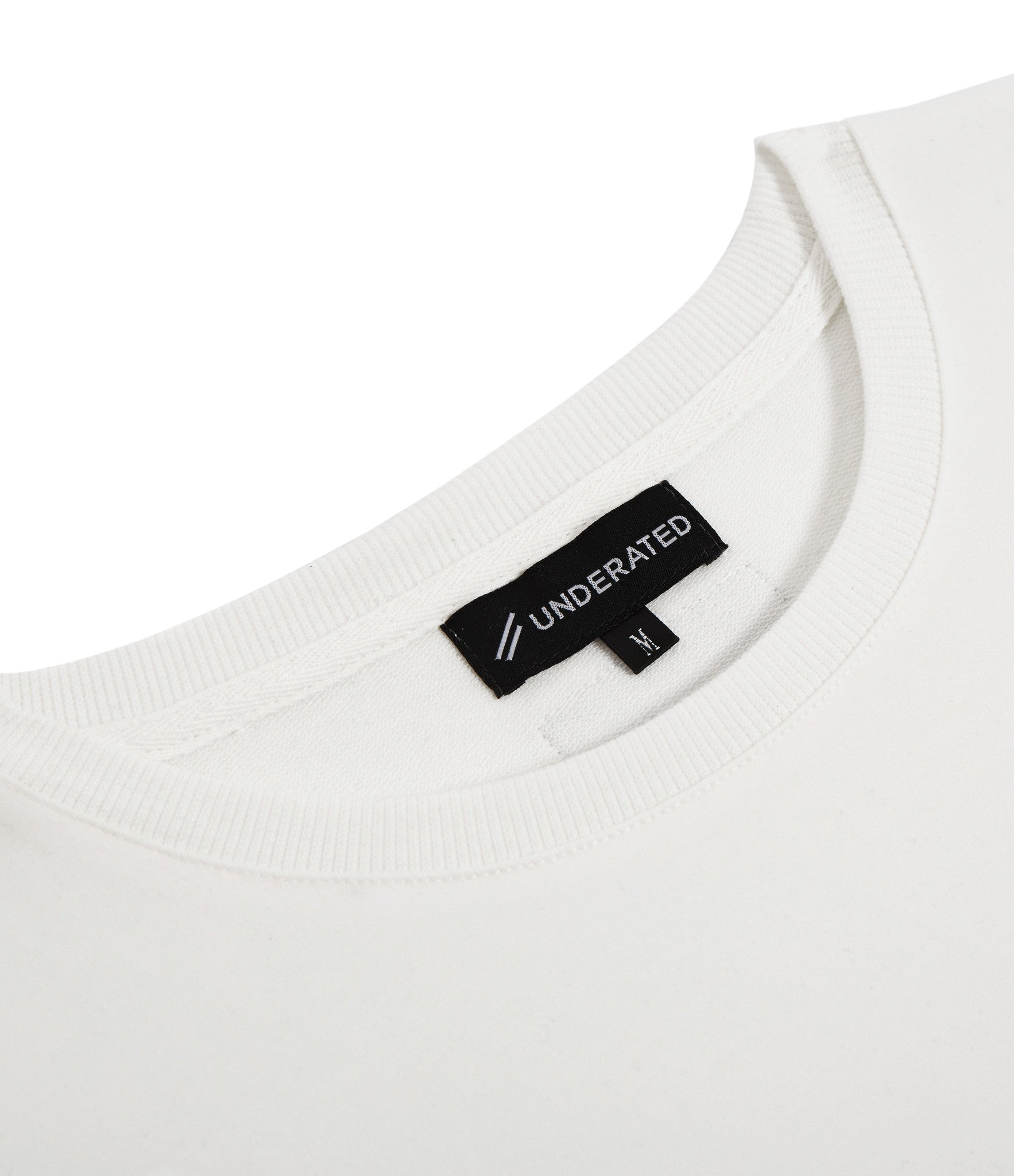 TS222 Drop Shoulder Utility Tee - Off White - underated london - underatedco - 2