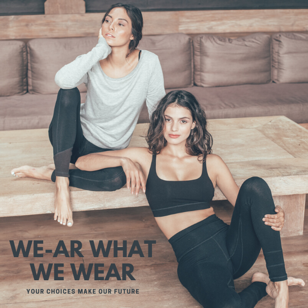 Choose natural, earth-loving yoga wear
