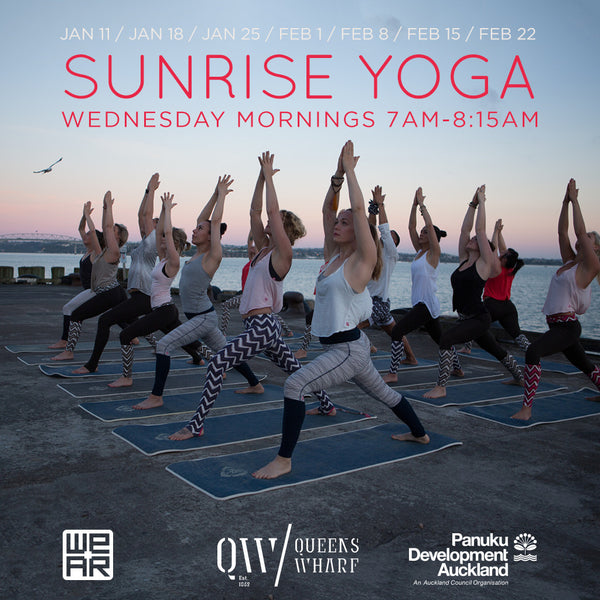 WE-AR presents: Sunrise Yoga - Free Summer Yoga Classes in Auckland