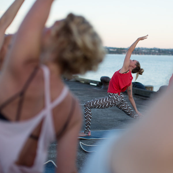 Sunrise Yoga this week with Nik Robson