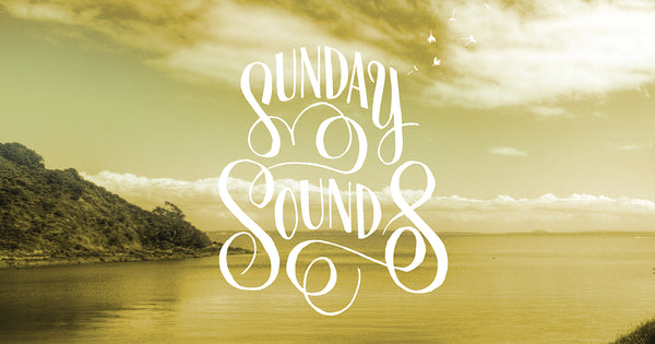 Sunday Sounds live acoustic sessions at we'ar yoga ethical fashion store waiheke island new zealand poster