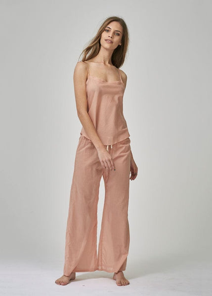 relaxed fit pj pants for women