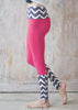Socksies Yoga Leggings Pink