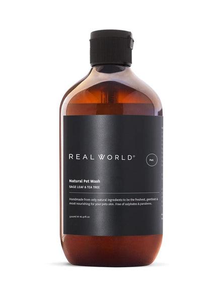 Real World Natural Pet Wash - Sage Leaf & Tea Tree