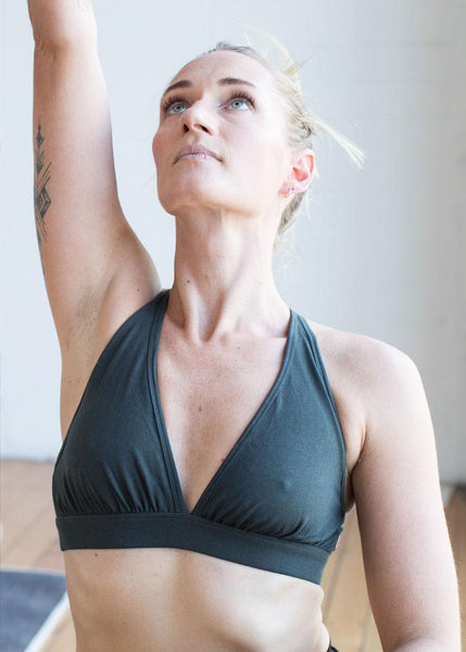 Cross Back Organic Bra