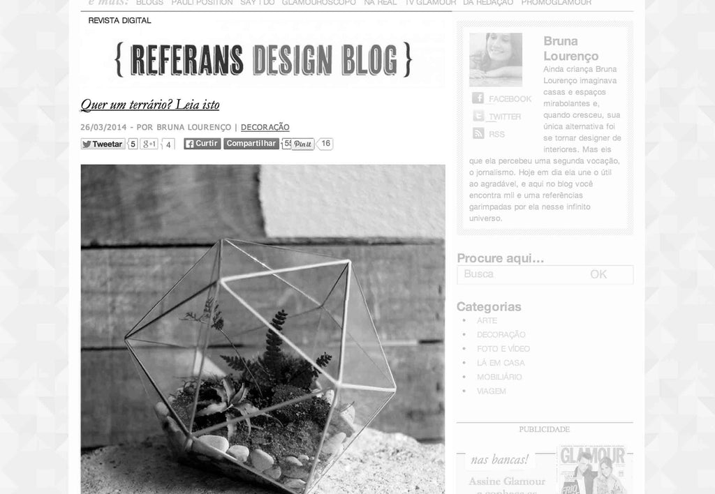 Glamour - Blog Referans Design Blog - 03/2014