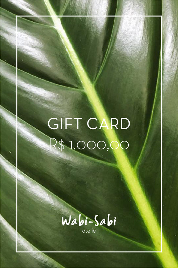 Gift Card R$1.000,00