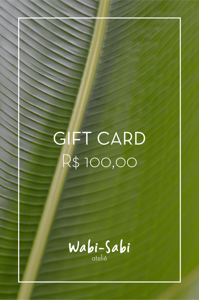 Gift Card R$100,00