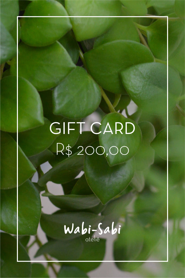 Gift Card R$200,00