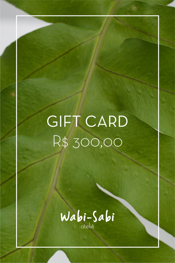 Gift Card R$300,00