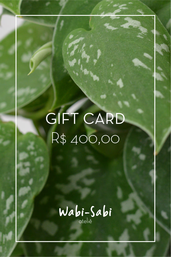 Gift Card R$400,00