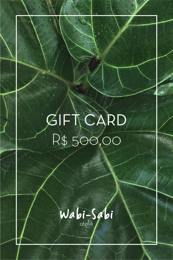 Gift Card R$500,00