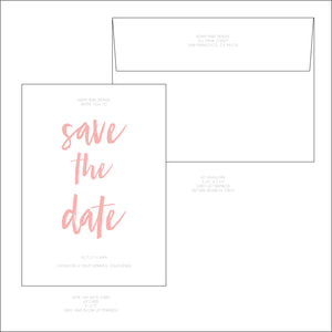 Save the Date - all designs