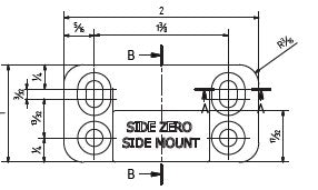 325 Zero Side Mount Diagram