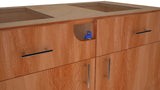 The Star Zero Side Mount is an excellent alternative for false cabinet drawers, ADA Removable Panels, Keku Clip, Bulldog Catch