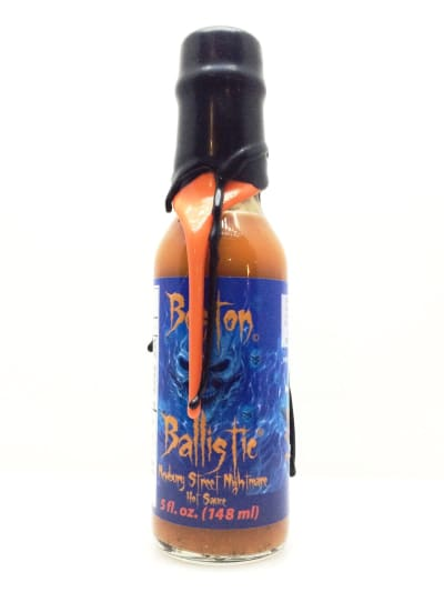 Boston Ballistic: Newbury Street Nightmare Hot Sauce (Wax Cap) - Hot Sauce - chillychiles.com