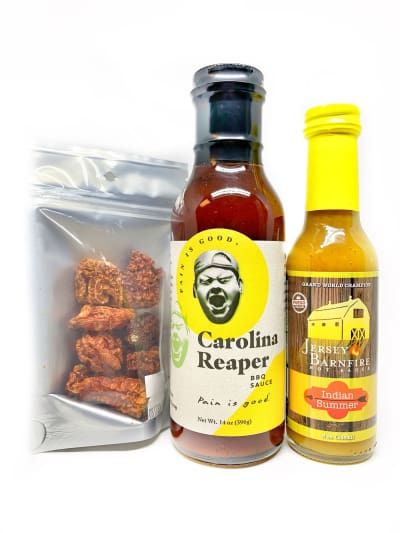 Burn It Down BBQ Box Set - Gift Set - chillychiles.com