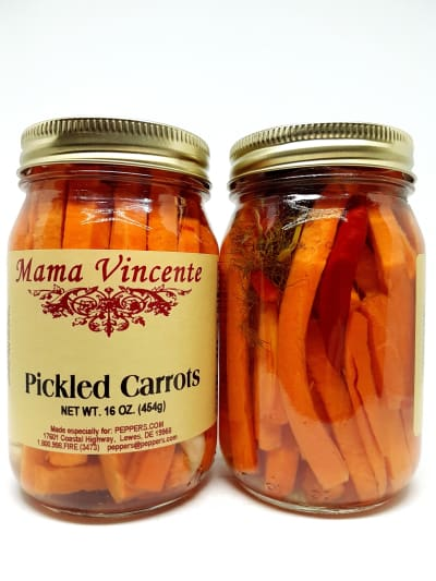 Mama Vincente Pickled Carrots - Pickled Items - chillychiles.com