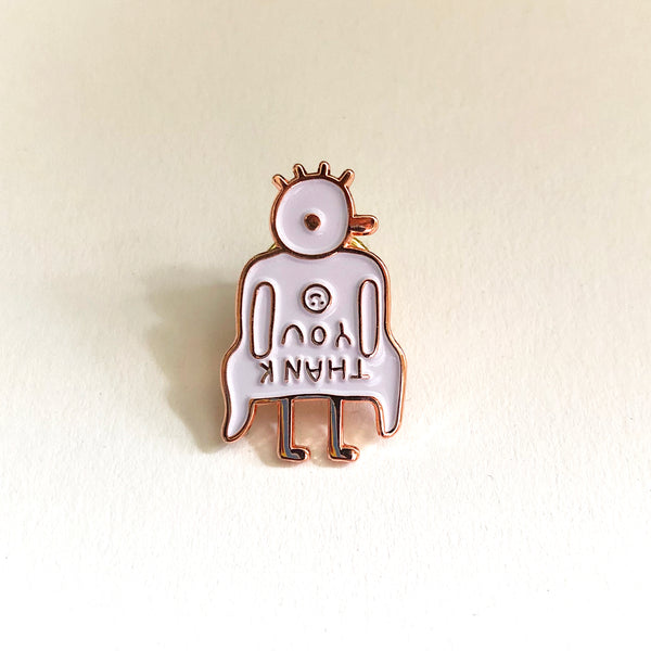 Trash Kid Enamel Pin