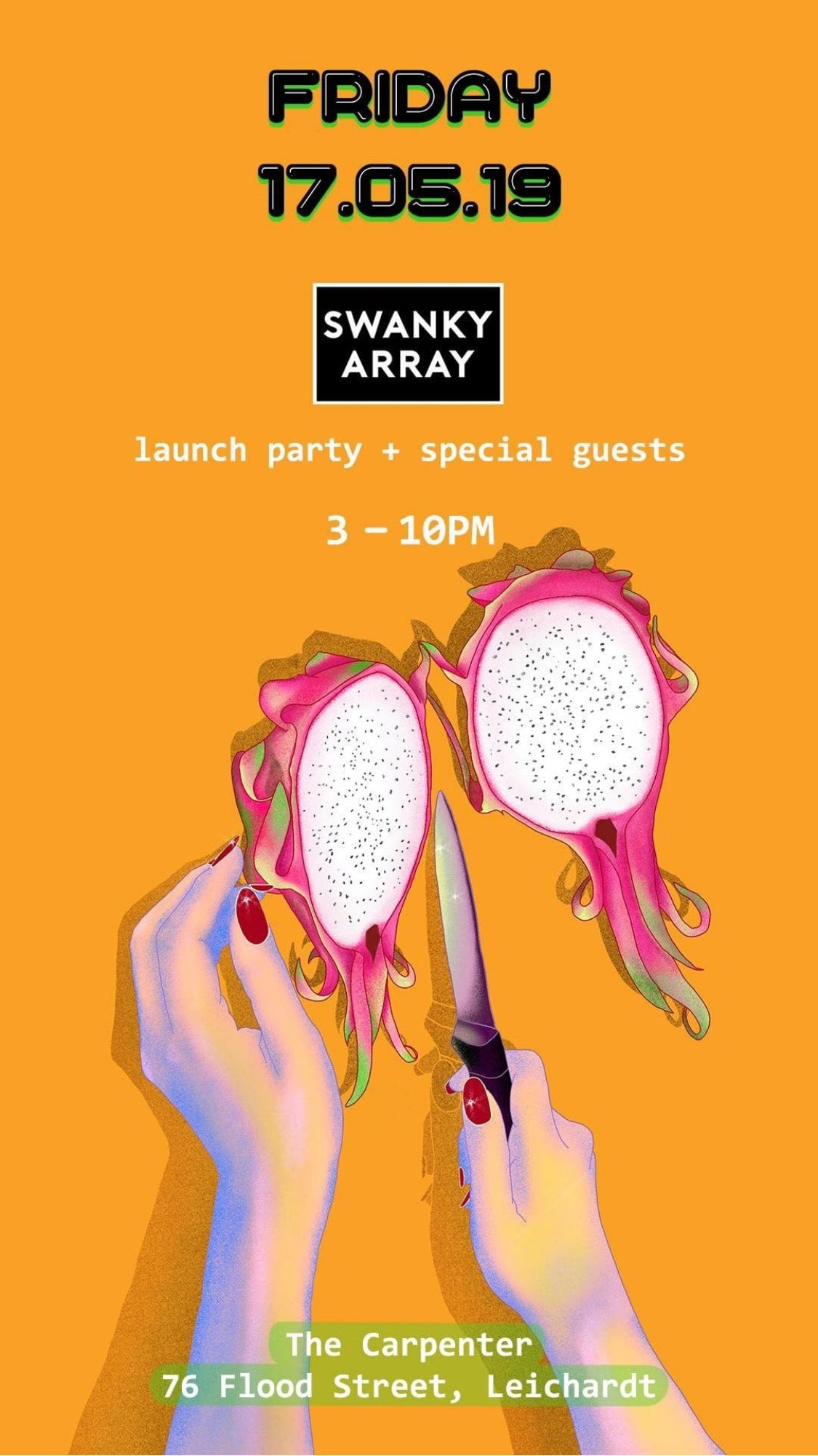 SWANKY ARRAY - LAUNCH