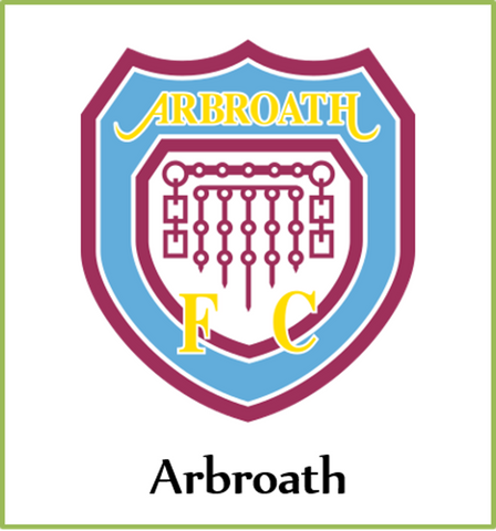 Vintage Arbroath Button