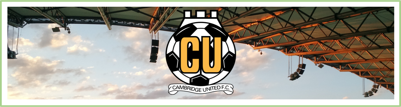Cambridge United Football Shirts