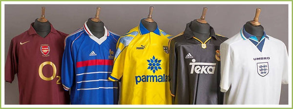 5c50e6698c7 Sell your old football shirts for cash. We buy old football shirts ...