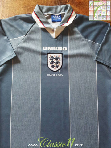 1996/97 England Away Football Shirt (XL)