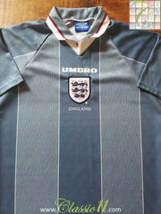 1996/97 England Away Football Shirt (L)