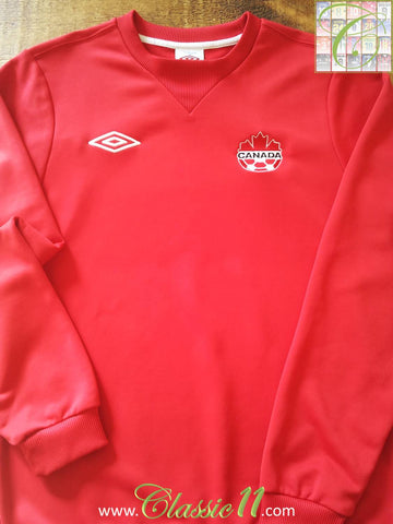2011/12 Canada Training Football Sweat Shirt (M)