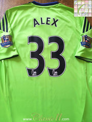 2010/11 Chelsea 3rd Premier League Football Shirt Alex #33 (M)