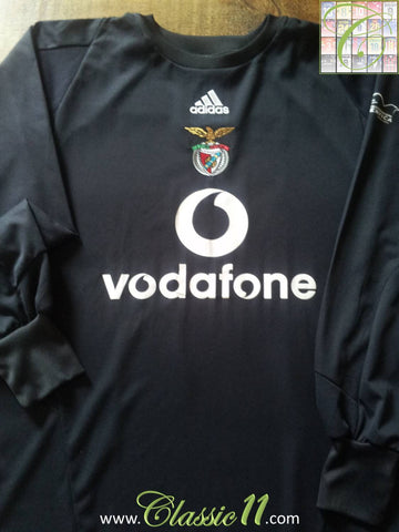 2003/04 Benfica Goalkeeper Football Shirt (XL)