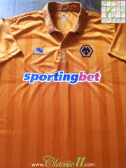 2012/13 Wolverhampton Wanderers Home Football Shirt (XXL)