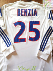 2012/13 Lyon Home Ligue 1 Football Shirt. Benzia #25 (M)