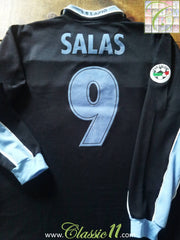 1998/99 Lazio Away Serie A Football Shirt Salas #9 (L)