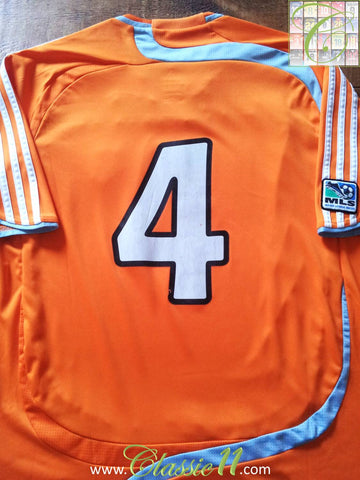 2008/09 Houston Dynamo Home MLS Football Shirt Ianni #4 (L)