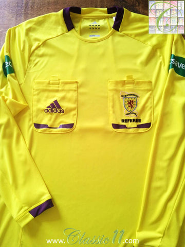 2012/13 SFA Referee Football Shirt (M)