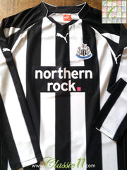 2010/11 Newcastle United Home Football Shirt (L)