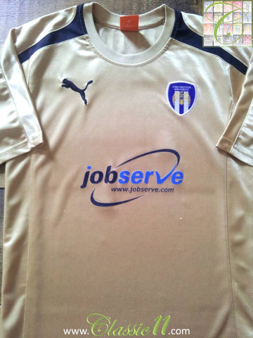 2012/13 Colchester United Away Football Shirt (S)