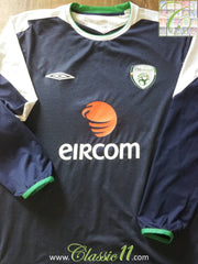 2004/05 Republic of Ireland Goalkeeper Football Shirt (XL)