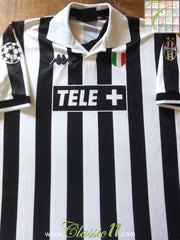 1998/99 Juventus Home Champions League Football Shirt (XXL)