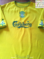2003/04 Hibernian Away Football Shirt (XL)