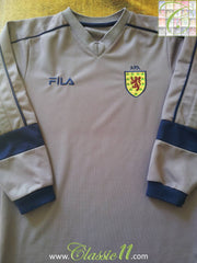 2000/01 Scotland Goalkeeper Football Shirt (B)