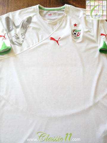 2010/11 Algeria Home Football Shirt (XL)