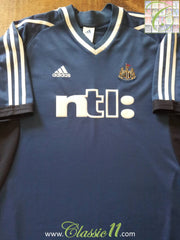 2001/02 Newcastle United Away Football Shirt (L)