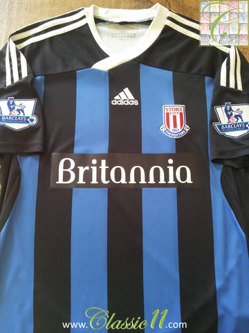 2011/12 Stoke City Away Premier League Football Shirt (M)