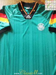 1992/93 Germany Away Football Shirt (M)