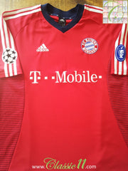2002/03 Bayern Munich Champions League Football Shirt (XL)