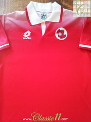 1996/97 Switzerland Home Football Shirt (S)