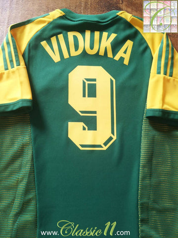 2002/03 Australia Home Football Shirt Viduka #9 (M)